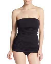 Ivanka Trump - One-Piece Shirred Swimsuit - Lyst