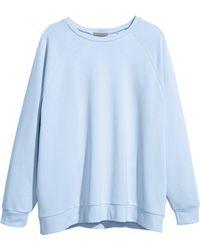 H&M + Sweatshirt - Lyst