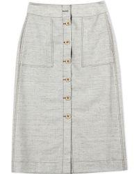 3.1 Phillip Lim   Long Skirt   Lyst