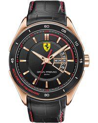 Ferrari - Gran Premio Gold-plated Watch - Lyst