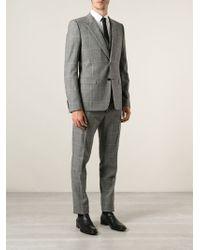 Dolce & Gabbana Checked Three Piece Suit - Lyst