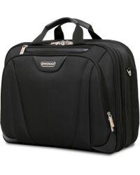 "Wenger - 17"" Triple Compartment Briefcase Lite - Lyst"