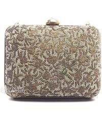 Chanel Pre-owned Beaded Evening Clutch - Lyst