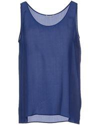 American Vintage Top blue - Lyst