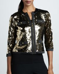 Michael Simon - Sequined Jacket - Lyst