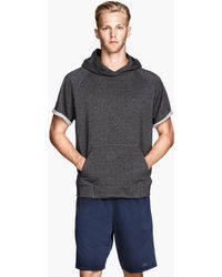 H&M Hooded Sports Top - Lyst
