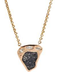 Dezso by Sara Beltran - Slice Pendant Necklace - Lyst
