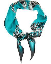 Emma J Shipley Amazon Printed Silk Scarf - Lyst