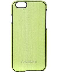 Calvin Klein - Standalone Yellow Iphone 6 Cover - Lyst
