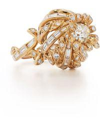 Fred Leighton - Diamond Thistle Ring - Lyst