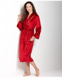 Jones New York Plush Animal Terry Robe - Lyst