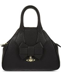 Vivienne Westwood Yasmine Small Leather Tote - Lyst