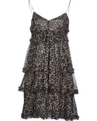 Dolce & Gabbana Short Dress black - Lyst