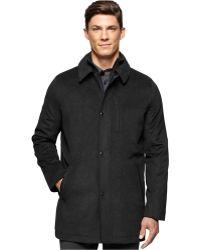 Calvin Klein | Wool-blend Car Coat | Lyst