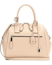 Marc Jacobs Smooth Large Incognito Leather Tote - Lyst