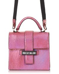 House of Holland Lady H Bag Pink - Lyst