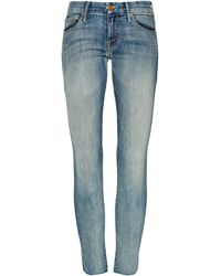 Mother The Looker Cropped Skinny Jeans - Lyst