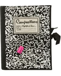 Olympia Le-Tan Notebook Clutch - Lyst