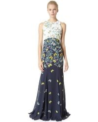 Erin Fetherston Madame Butterfly Maxi Dress - Lyst