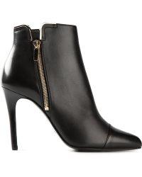 Lanvin Black Ankle Boots - Lyst