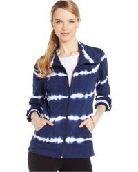Style & Co. - Petite Tie-dye Three-quarter-sleeve Jacket - Lyst