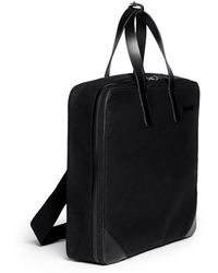 Seventy Eight Percent - 'luke' Canvas Travel Bag - Lyst