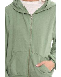 Wildfox Malibu Flower Girl Jacket green - Lyst