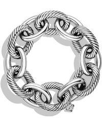 David Yurman - Oval Ultra Large Link Bracelet - Lyst