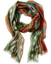Banana Republic Beverly Scarf Canopy Green - Lyst