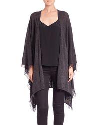 Diane von Furstenberg | Amagansett Wool & Cashmere Wrap | Lyst