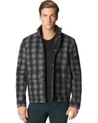 Calvin Klein Jeans Plaid Jacket - Lyst