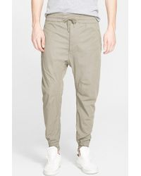 Helmut Lang Men'S Sateen Track Pants - Lyst