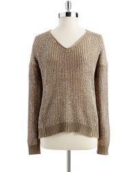 DKNY Loose Knit Sweater - Lyst