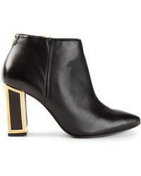 Kat Maconie Stella Metallic Heel Boots - Lyst