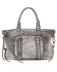 She + Lo Next Chapter Perforated Leather Mini Satchel