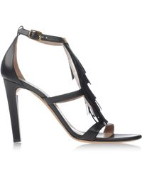 Chloé Black Sandals - Lyst