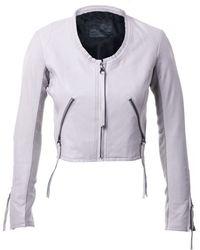 Linea Pelle | Looker Crop Jacket | Lyst