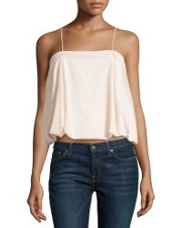 F.t.b By Fade To Blue - Pleated Bubble Camisole - Lyst
