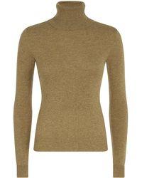 Ralph Lauren Blue Label Cashmere Turtleneck Sweater - Lyst
