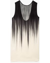 Won Hundred Alfa Print Dress black - Lyst