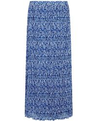 Dash | Printed Crinkle Maxi Skirt | Lyst