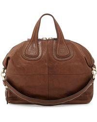 Givenchy Nightingale Medium Zanzi Satchel Bag - Lyst