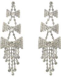 Fenton - Knots Earrings - Lyst
