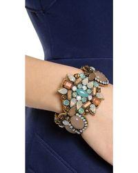Deepa Gurnani   Crystal Cuff Bracelet   Lyst