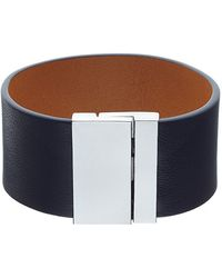 Whistles - Lambskin Wide Leather Cuff - Lyst