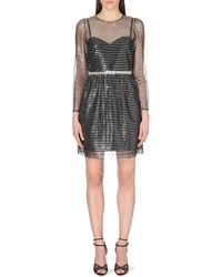Marc Jacobs Sequin-Panelled Dress - For Women - Lyst