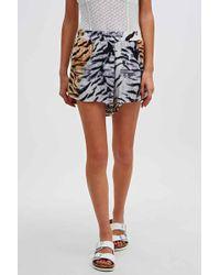 Somedays Lovin - Molopo Animal Print Shorts - Lyst