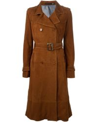BLK DNM - Belted Flared Coat - Lyst