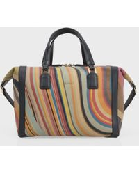 Paul Smith - Women'S Swirl Print Calf Leather 'Ziggy' Bag - Lyst