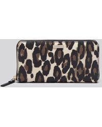 Kate Spade Wallet - Cedar Street Leopard Lacey Continental - Lyst